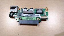 Scheda USB board Asus EEE PC 1008HA - audio hard disk tasto accensione pulsante