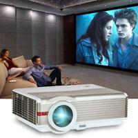 LCD Projektor Heimkino LED Video Beamer 5000Lumens HD 1080p HDMI USB VGA Sports