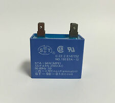 12uf mfd 250vac  Lighting Capacitor Rectangle Body Style and Mounting Tag