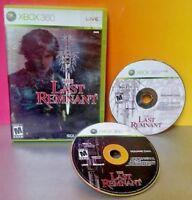 The Last Remnant - Microsoft Xbox 360 Game Near Mint Discs Square Enix