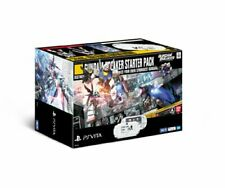 SONY PS Vita Console System Gundam Breaker Starter Pack White Limited Model New