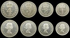 More details for elizabeth ii 1972 full maundy set - fourpence, threepence, twopence, penny