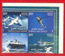 [2380] India Se-tenant Indian Coast Guard 2008 MNH [TR]