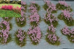 Wild-flower beds Self Adhesive tufts Lupins Foxgloves Fireweed