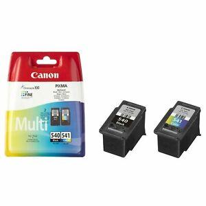 Canon PG540 Black CL541 Colour Ink Cartridges For PIXMA MG3650