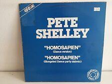 "MAXI 12"" PETE SHELLEY Homosapien 6863178"