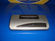 switch conceptronic 8 puertos fast ethernet switch modelo C100S8