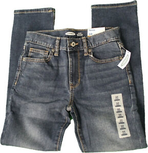 Boys OLD NAVY Built In Flex Skinny Jeans Blue Size 10 NWT  (GS 6)