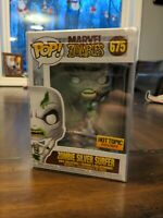 Funko Pop Marvel Zombie SILVER SURFER #675 Hot Topic EXCLUSIVE