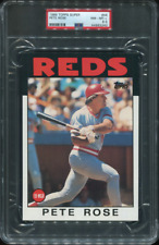 PSA 8.5 NM-MINT+ 1986 TOPPS SUPER PETE ROSE #46 REDS 93240