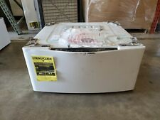 NEW Open Box LG WD200CW SideKick 1.0cu ft Pedestal Washer White J