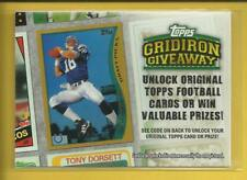 Peyton Manning 2010 Topps Gridiron Giveaway Insert Card # GG-6 Colts Broncos NFL