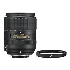 Nikon 18-300mm f/3.5-6.3G ED VR Lente AF-S DX Nikkor + Filtro UV Multi Recubiertos