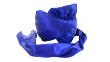 7 1/8 MEN HAT TRADITIONAL PAGRI HANDMADE BLUE SATIN TURBAN SAFA PAG KCFT133