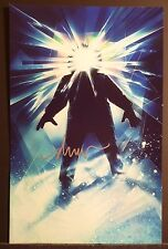 """DREW STRUZAN Authentic Hand-Signed """"THE THING"""" 11x17 Photo (PROOF)"""