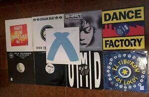 Lotto Vinili 33 Giri Musica Dance Anni 90