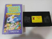 WINNIE THE POOH LOS DESEOS DE WINNIE AMISTAD VHS TAPE CINTA WALT DISNEY