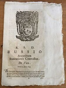 1803-04 Papal Document