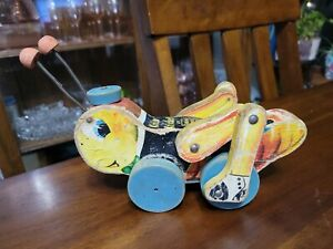 Fisher Price Kriss Kricket Pull Toy