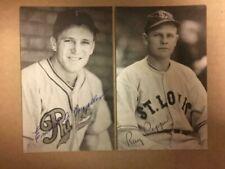 Heine Mueller 1938  Signed Postcard Sized Vintage Photo JSA Precertified**