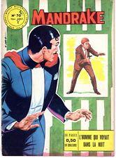 MANDRAKE  NUMERO  70  EDITIONS DES REMPARTS 1965