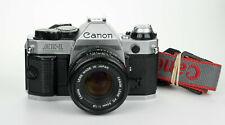 Canon AE-1 Program 35mm film camera reflex analogica + FDn 50mm 1:1.8 obiettivo
