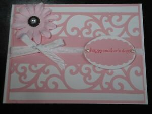 Handmade Mother's Day Card Using Stampin Up Kaiser EK Success