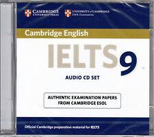 Cambridge English IELTS 9 Audio CD Set (2 CD's) ESOL Examination Papers @NEW@
