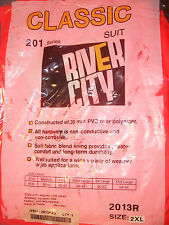 River City Construction Motorcycle Road Work Hunting Biking Rain Suit 2013R 2XL