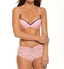 NEW Jezebel Dazzled Push Up Bra 14287 34A PINK