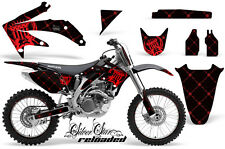 Honda CRF 450R Graphic Kit AMR Racing # Plates Decal Sticker Part 05-08 RLBR