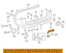 TOYOTA OEM 14-17 4Runner REAR BUMPER-Lower Extension 5215135901