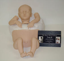 Twin B Vinyl Doll Kit by Bonnie Brown - w/Certificate of Authenticity