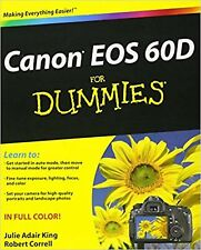 Canon EOS 60D For Dummies Paperback Book