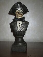 "NEW 12"" Pirate Skeleton Bust, Decoration, Prop, Statue, Halloween, Bedroom Decor"