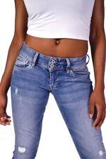 Herrlicher Jeans PITCH SLIM N2455 GABARDINE STRETCH SCHWARZ Größe W29 W30