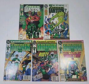 Green Lantern 19,25 - Emerald Dawn II 2,5,6 - Comic Lot, 5 Books, DC Comics 1991