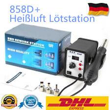 858D+ SMD Hot Air Gun Schweißen Heißluft Rework Löten Station Entlötkolben 700W