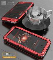 Impermeable Aluminio Vidrio Gorila Metal Funda Carcasa Case Para iPhone 7 7+ 6S