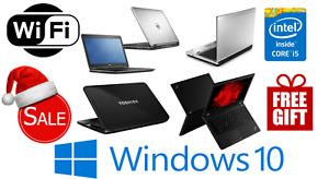 SALE FAST CHEAP WINDOWS 10 LAPTOP Core i5 4GB/8GB RAM SSD & HDD WiFi FREE GIFT