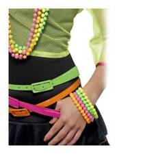 Complementos de color principal multicolor Años 80 para disfraces y ropa de época