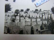 Foto: BELGIEN - Ypern Friedhof mit Grabsteinen und Zeichen.Judenfriedhof? (L)