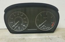 BMW 3 SERIES  320D E90 E91 E92 E93 DIESEL MANUAL SPEEDO INSTRUMENT PANEL