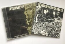 Severed Head Of State - 2 Rare CDs Lot Skitsystem Disclose Discharge