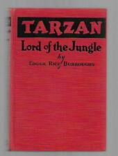 Tarzan Lord of the Jungle by Edgar Rice Burroughs (Second Printing)