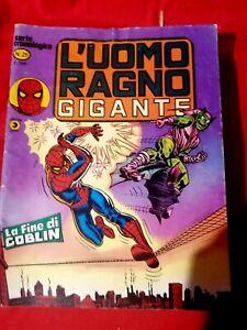UOMO RAGNO Gigante Lotto 2 numeri 25 + 29 Buono/Ottimo stato