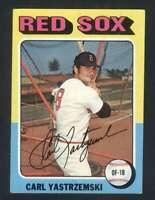 1975 Topps #280 Carl Yastrzemski EXMT+ Red Sox 124308