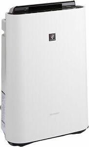 SHARP humidifying air purifier Plasmacluster KC-F70-W WHITE Tracking number NEW
