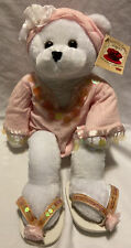 Musical Chantilly Lane Bear Named Hope Sings I Hope You Dance Breast Cancer