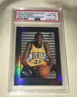 2007-08 SP ROOKIE EDITION KEVIN DURANT ROOKIE 121 PSA 8 FUTURE WATCH SHORT PRINT